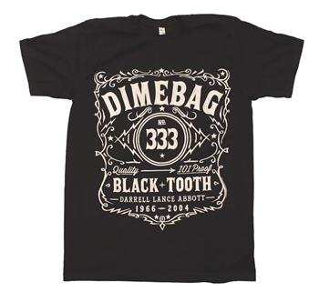 Buy Dimebag Darrell Whiskey Dimebag T-Shirt by Pantera