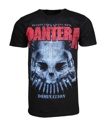 Buy Pantera Domination Distressed Print T-Shirt by Pantera