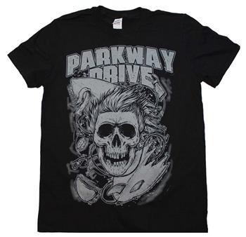 Parkway Drive Parkway Drive Surfer Skull T-Shirt