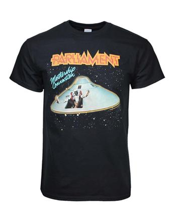 Buy Parliament Mothership Connection T-Shirt by PARLIAMENT