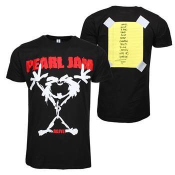 Pearl Jam Pearl Jam Alive Stickman T-Shirt