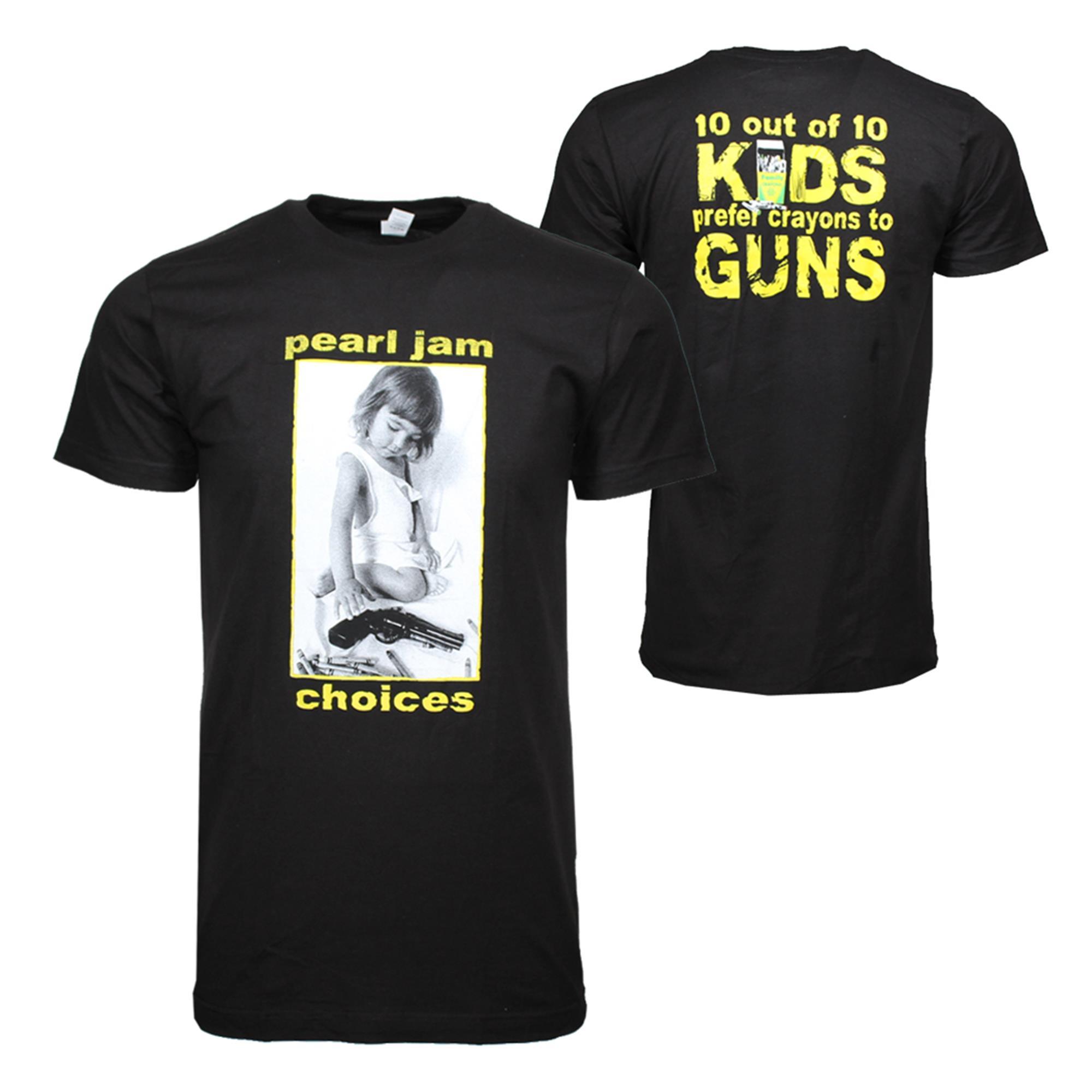 Pearl Jam Choices T-Shirt