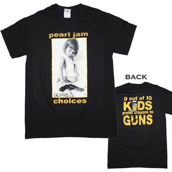 Buy Pearl Jam Choices T-Shirt by PEARL JAM