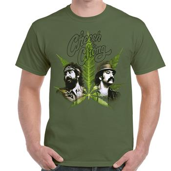Cheech & Chong Photos & Pot Leaf