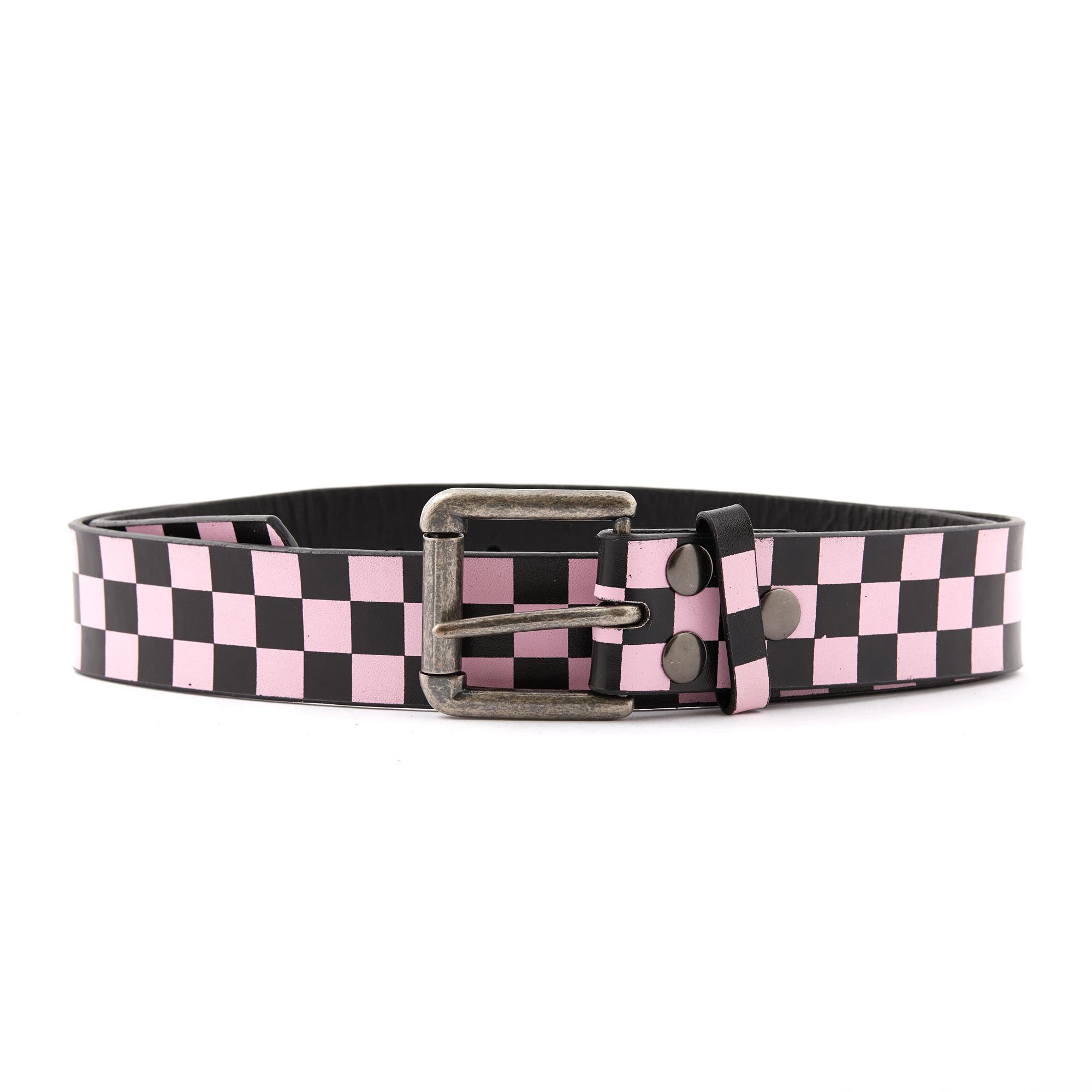 Pink & Black Checker