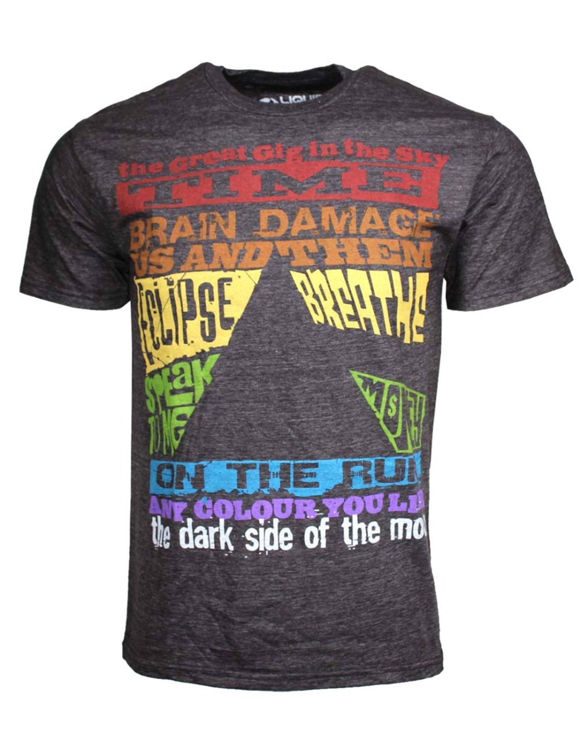 Pink Floyd Dark Side Tracks Triblend T-Shirt