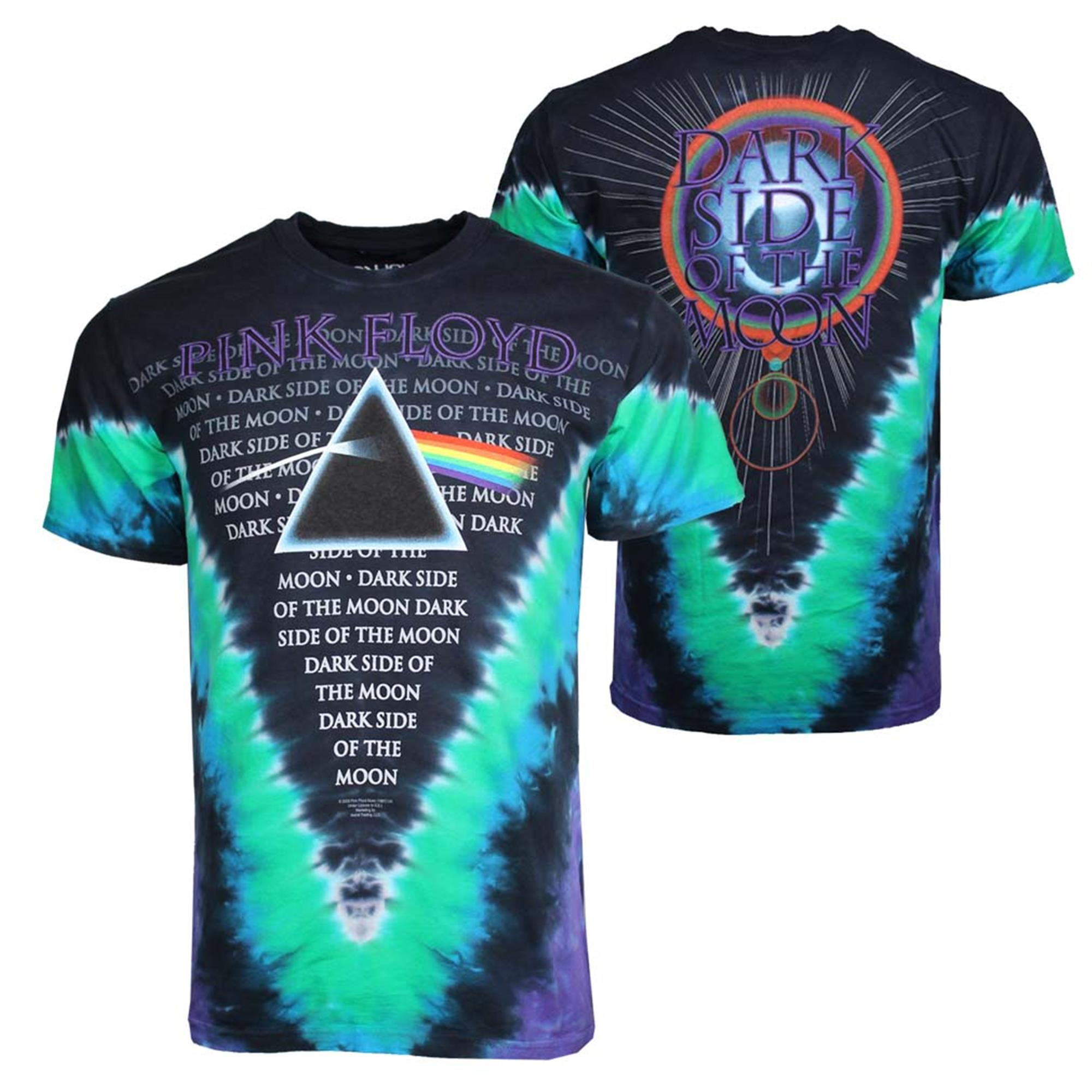 Pink Floyd Dark Side of the Moon Prism Rock Official Tee T-Shirt Mens
