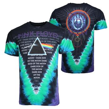 Buy Pink Floyd Dark Side VDYE T-Shirt by PINK FLOYD