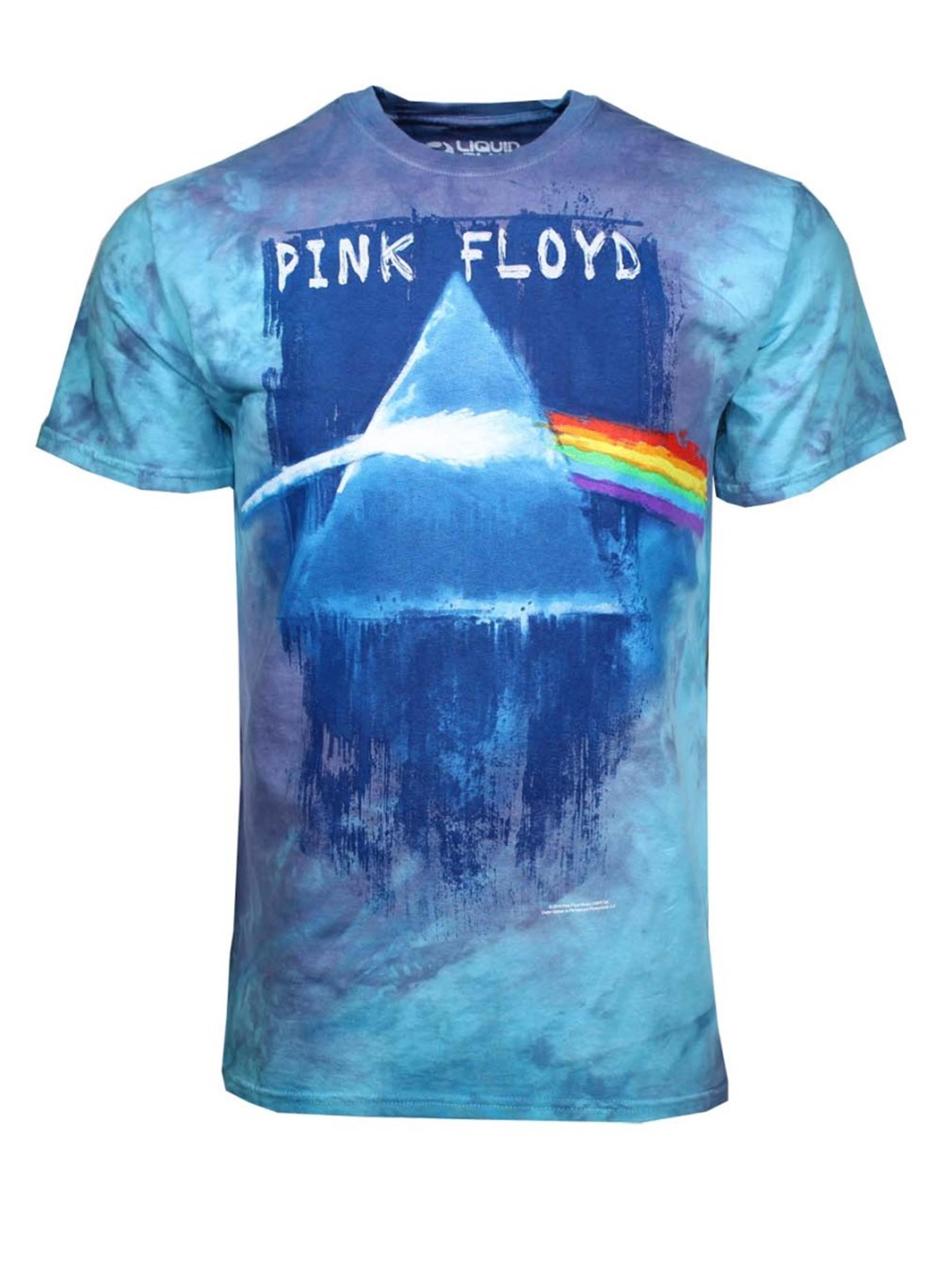 Pink Floyd Prism Paint Tie Dye T-Shirt
