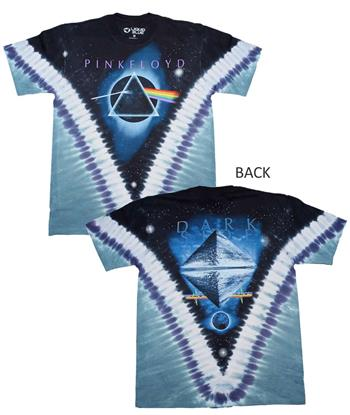 Buy Pink Floyd Pyramid VDYE T-Shirt by PINK FLOYD
