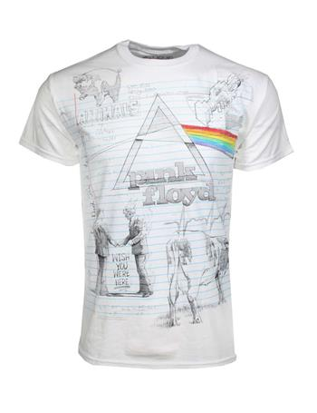 Buy Pink Floyd Sketch T-Shirt by PINK FLOYD