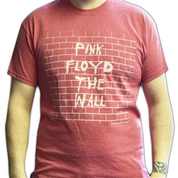 Buy The Wall (Heather Red) T-Shirt by Pink Floyd
