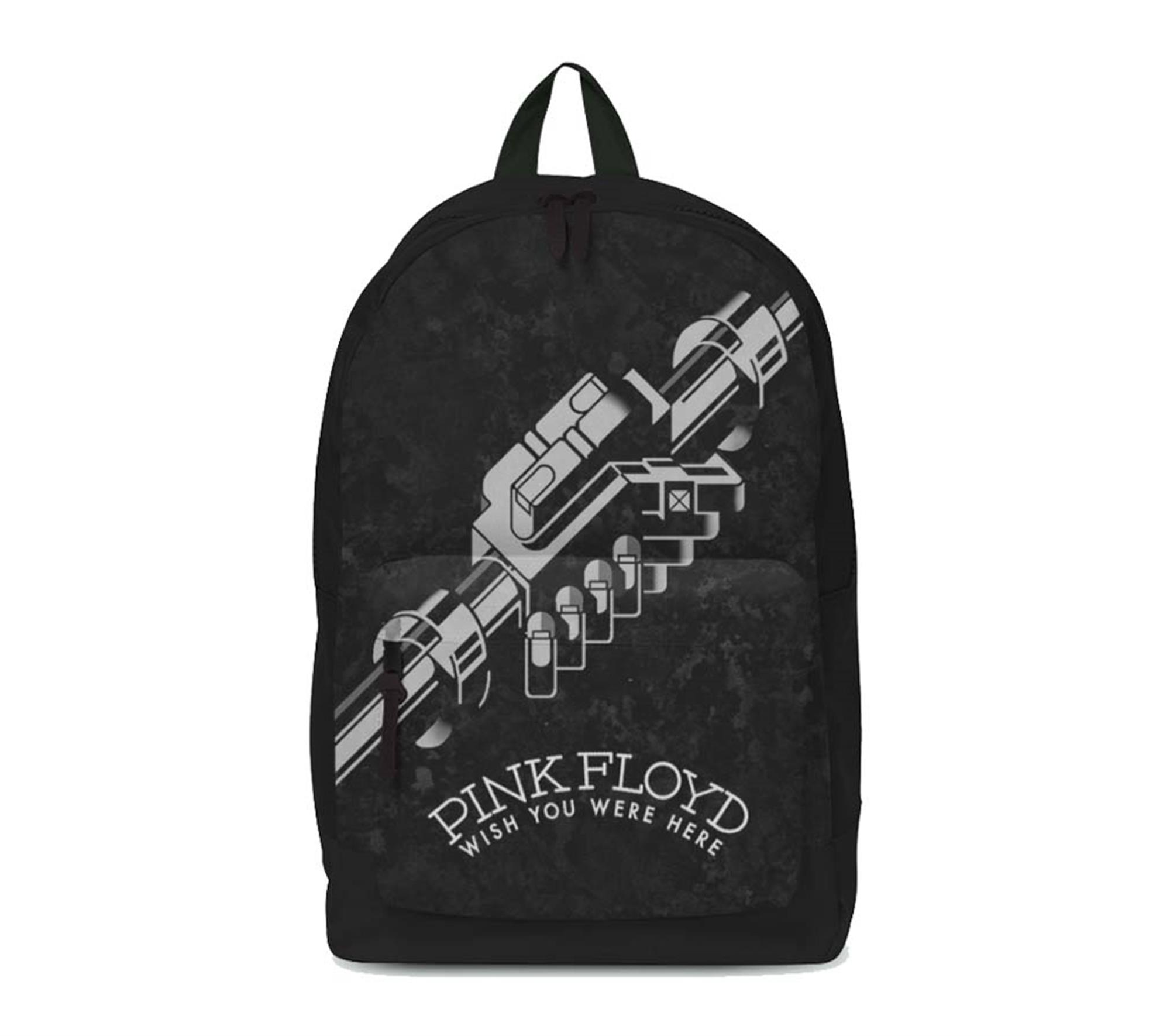 Pink Floyd Wish You Were Here Black and White Classic Backpack