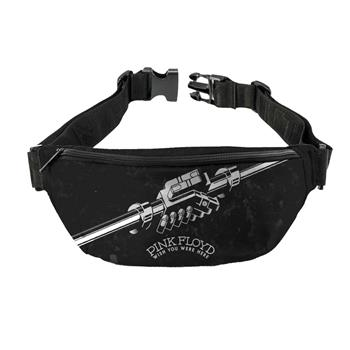 Pink Floyd Pink Floyd Wish You Were Here Black and White Fanny Pack
