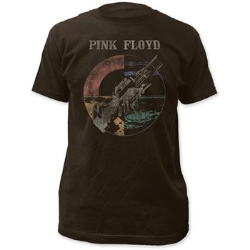 Buy Pink Floyd Wish You Were Here Distressed Fitted T-Shirt by PINK FLOYD