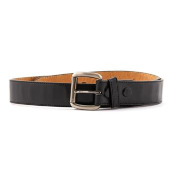 LEATHER BELT Plain Black & Brown
