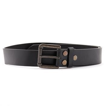 Leather Belt PLAIN BLACK