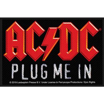AC/DC Plug Me In Patch