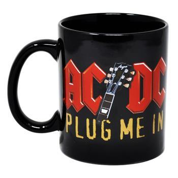 AC/DC Plug Me In Mug
