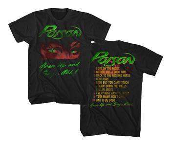 Buy Poison Open Up T-Shirt by Poison
