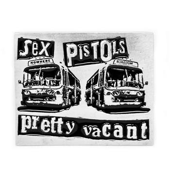 Sex Pistols Pretty Vacant Buckle