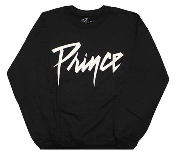 Buy Prince White Logo Crewneck Fleece Sweatshirt by Prince
