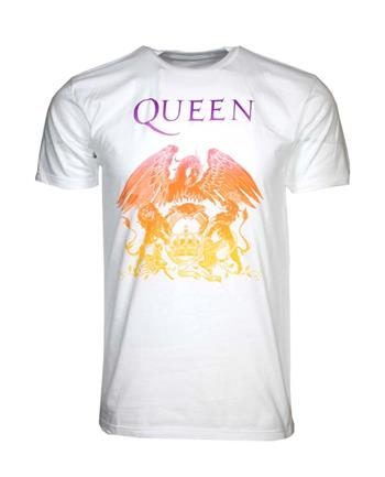 Buy Queen Crest White T-Shirt by Queen