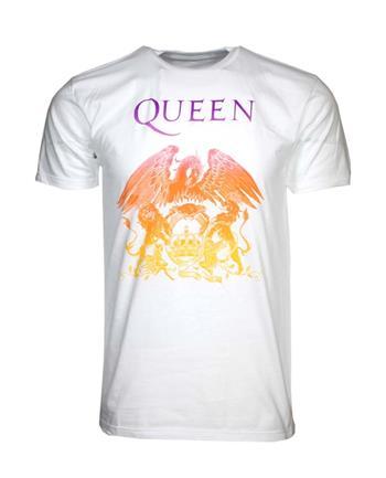 Queen Queen Crest White T-Shirt