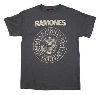 Buy Ramones Distressed Crest T-Shirt by Ramones