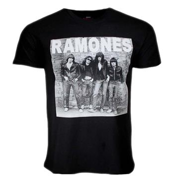 Buy Ramones First Album Cover T-Shirt by Ramones