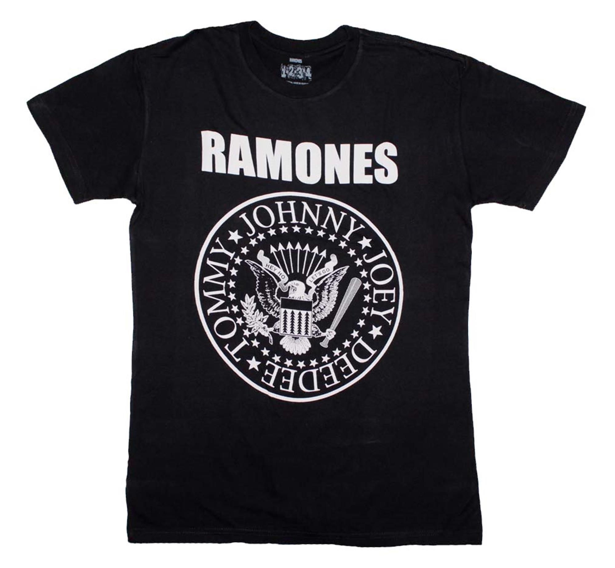 Ramones Seal Logo T-Shirt