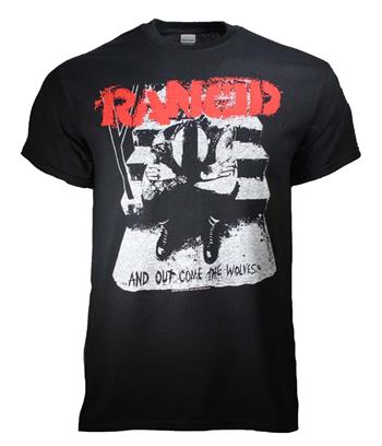 Rancid Rancid And Out Come the Wolves T-Shirt