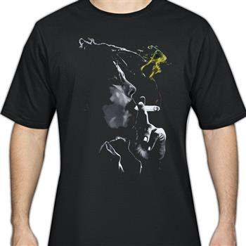 Buy Rasta Smoke T-Shirt by Bob Marley