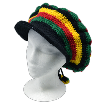 Buy Floral Circle Design (Knitted) Hat by Rastahat
