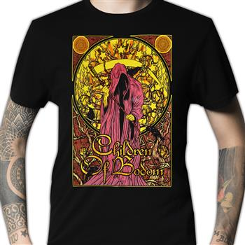 Buy Reaper Mosaic T-Shirt by Children Of Bodom