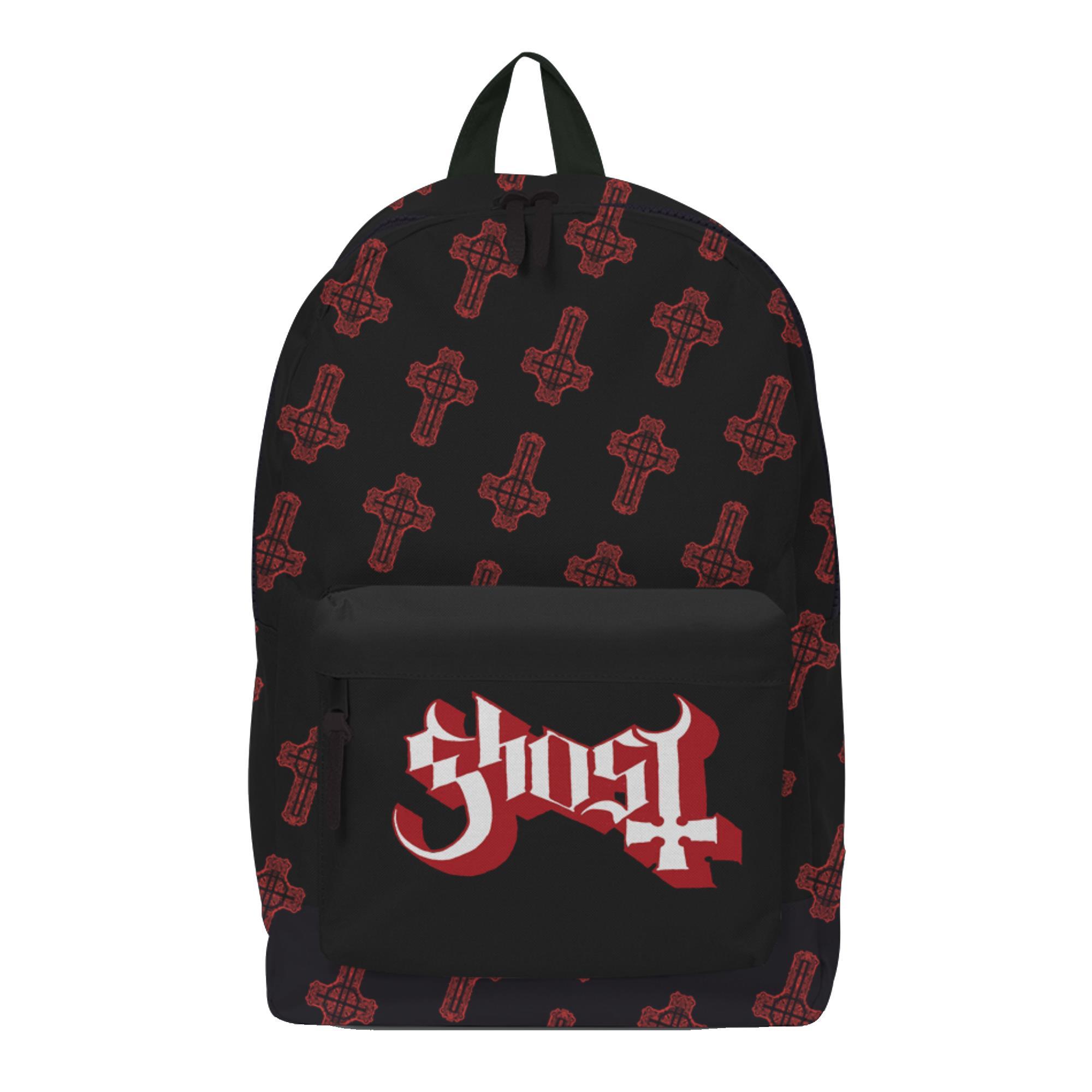 Red Crucifix Backpack