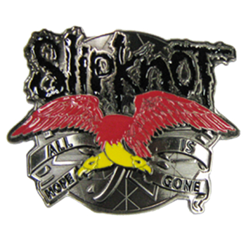 Slipknot Red Eagle Buckle