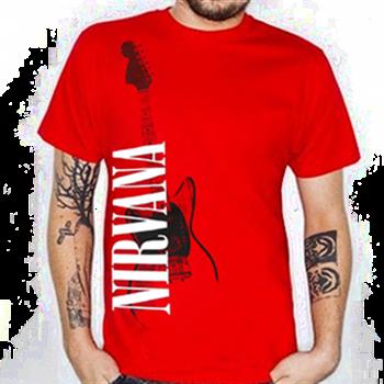 Nirvana Red Guitar