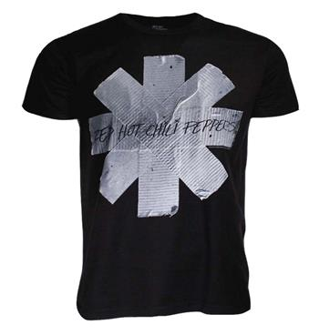 Buy Red Hot Chili Peppers Duct Tape Asterisk T-Shirt by Red Hot Chili Peppers