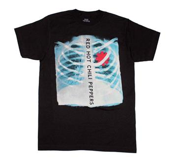 Buy Red Hot Chili Peppers X-Ray Asterisk Heart T-Shirt by Red Hot Chili Peppers