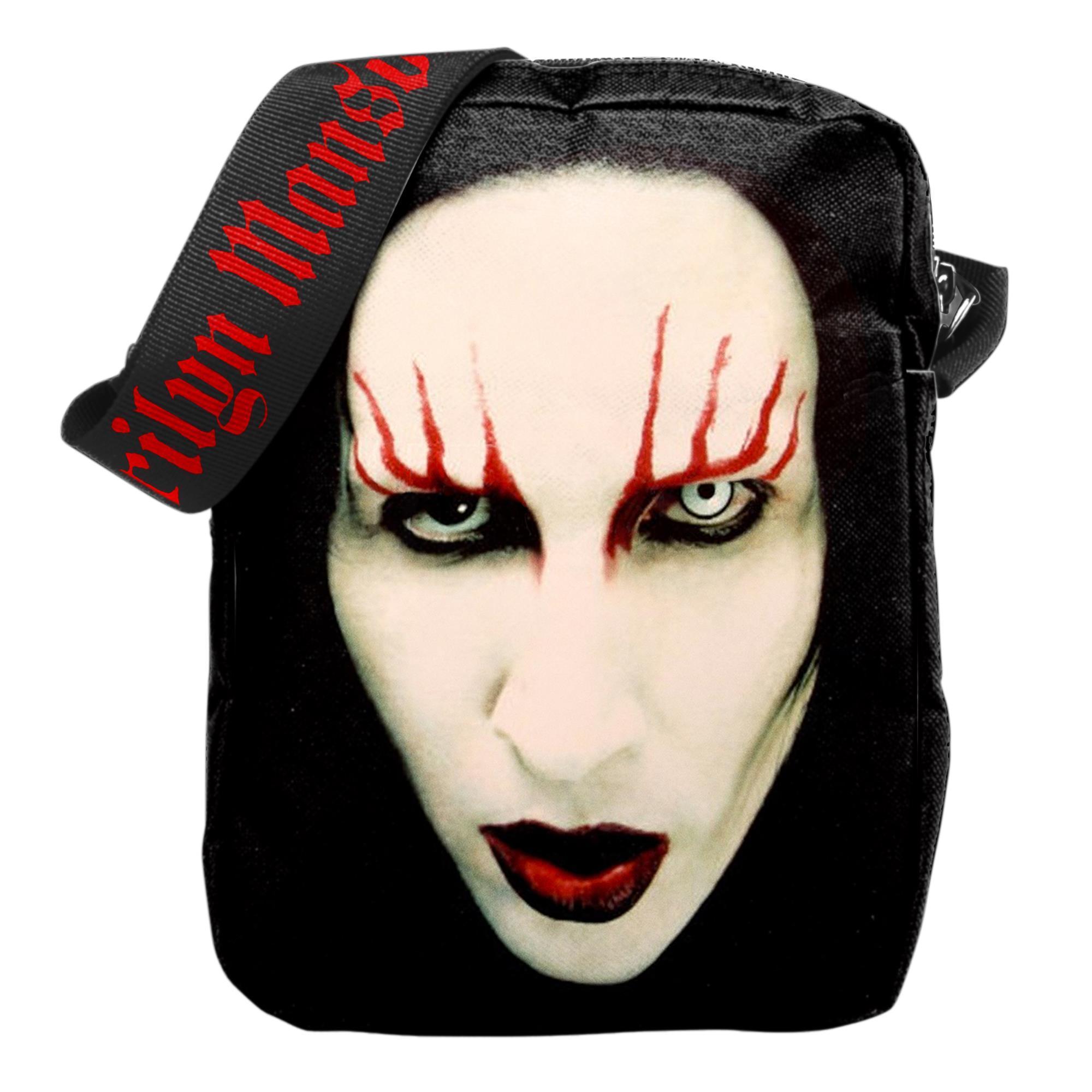Red Lips Crossbody Bag