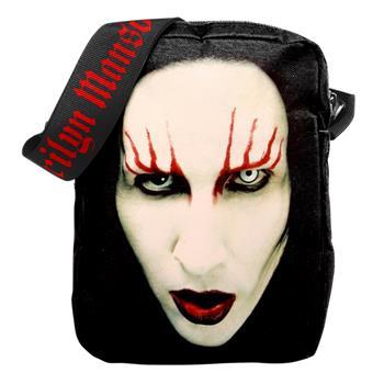 Marilyn Manson Red Lips Crossbody Bag