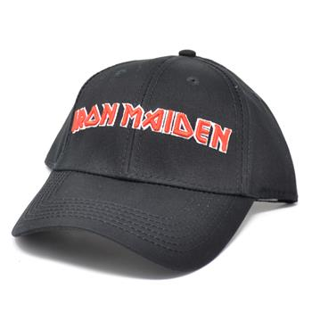 Buy Red Logo Hat by Iron Maiden