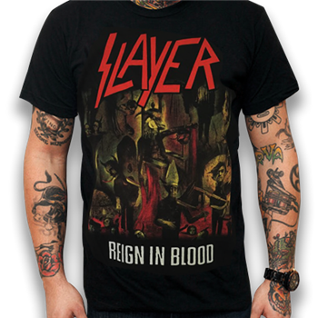 Buy Reign In Blood T-Shirt by Slayer