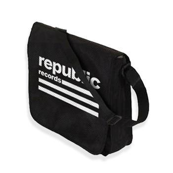 Republic Records Republic Records Flap Top Vinyl Record Bag