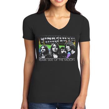 Pink Floyd Retro Faces V-Neck Shirt