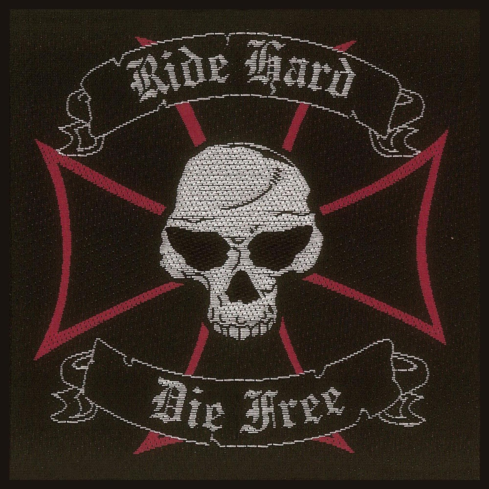 Ride Hard Die Free Patch