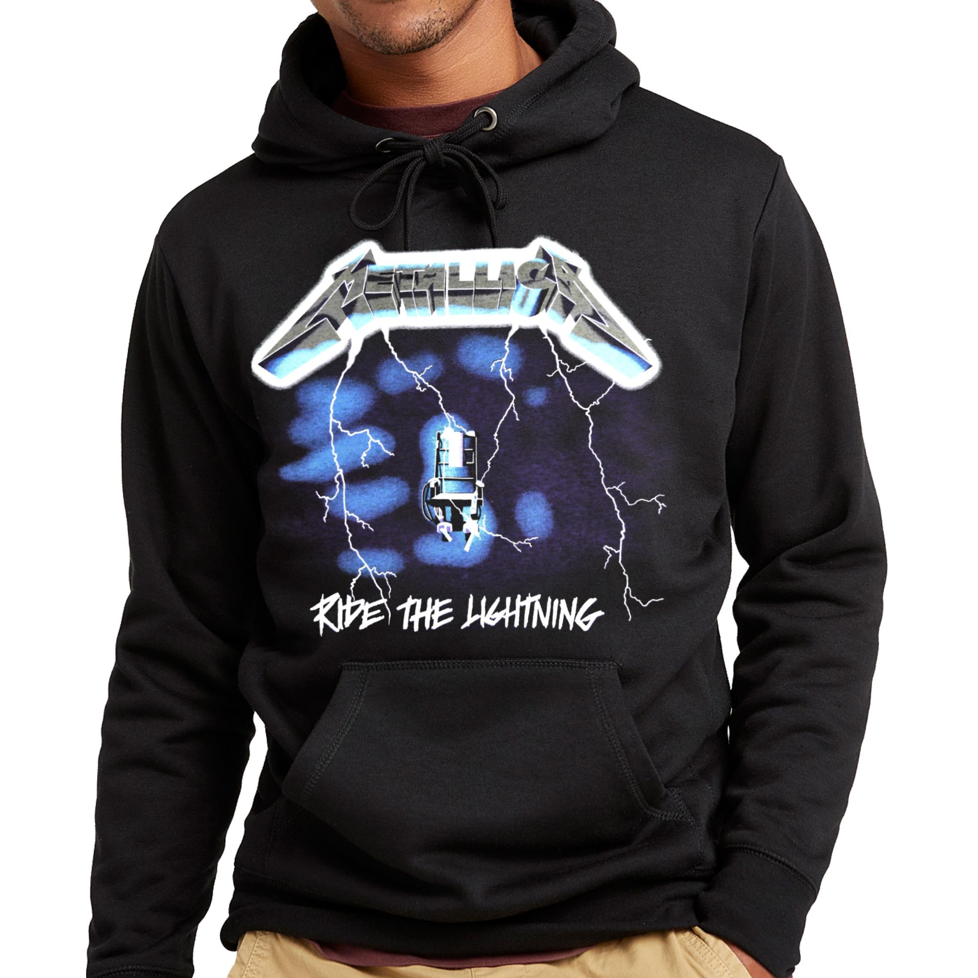 Ride The Lightning Pullover Hoodie