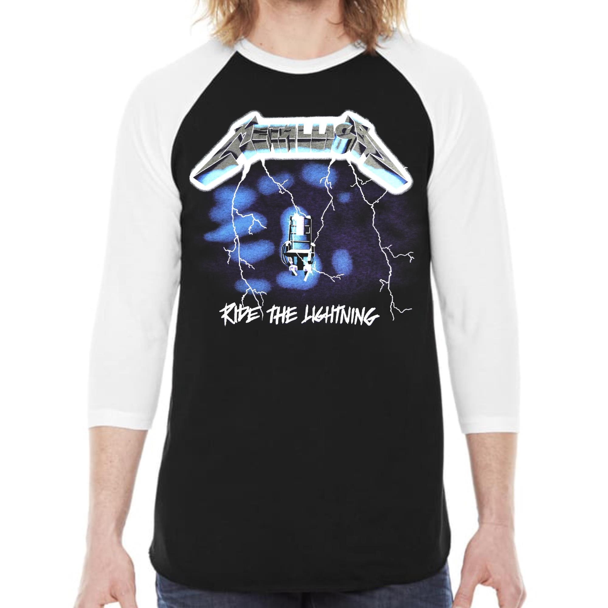 Ride The Lightning Raglan
