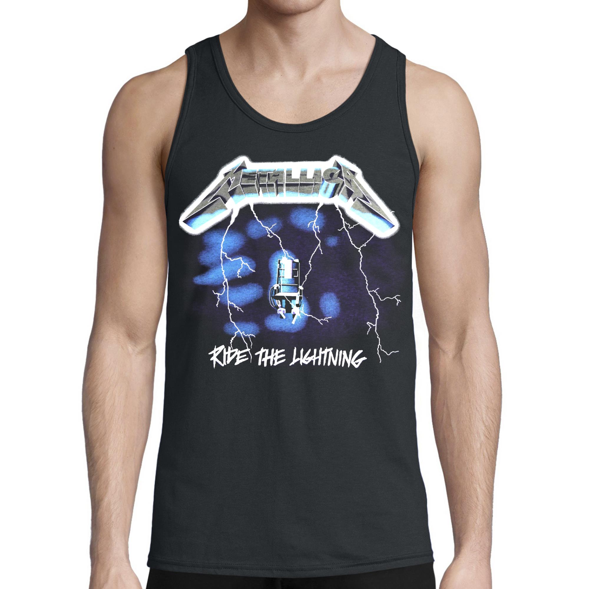 Ride The Lightning Tank Top